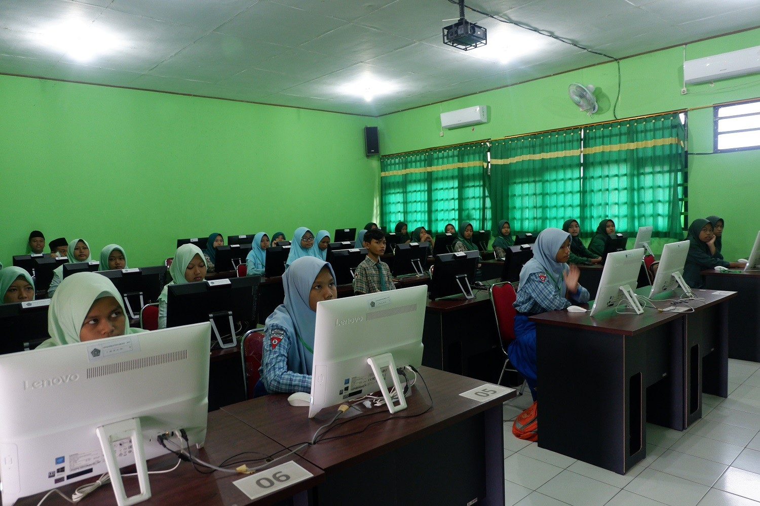 TRY OUT UNBK SMP/MTs 2020