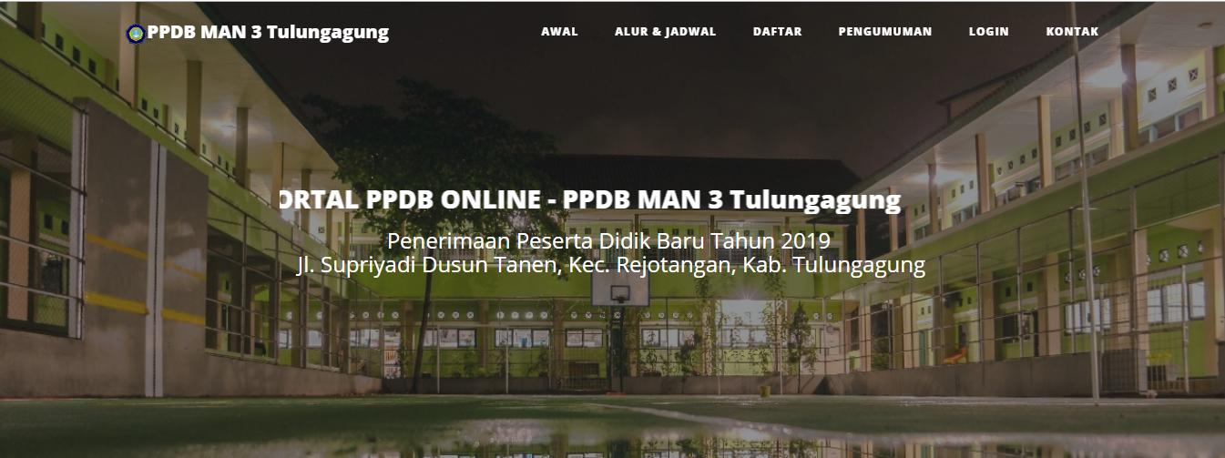 Aplikasi Sistem Informasi PPDB