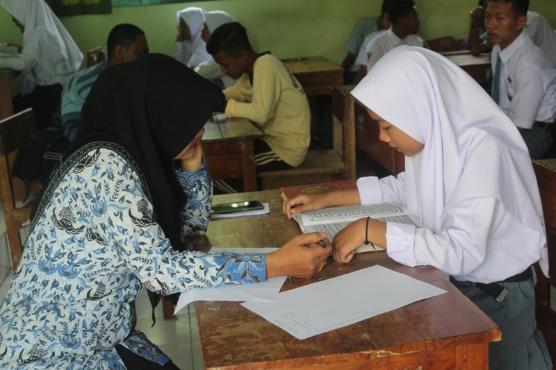 MATSAMA Tes baca Tulis Al-Qur