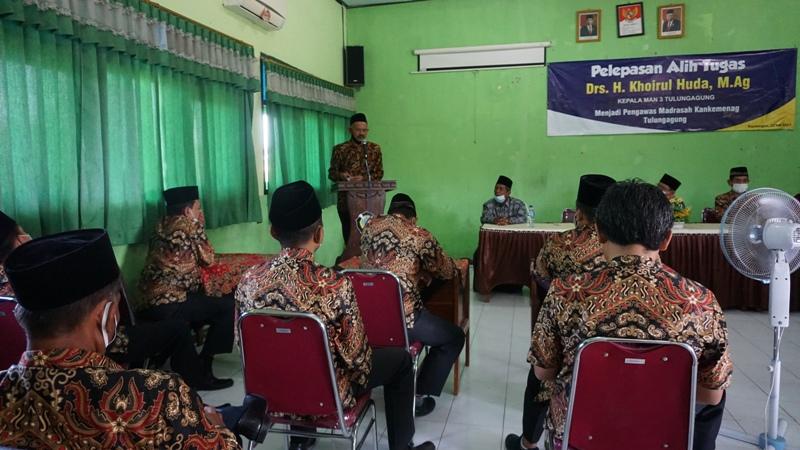Pelepasan Alih Tugas Kepala Madrasah Drs. KHOIRUL HUDA, M.Ag